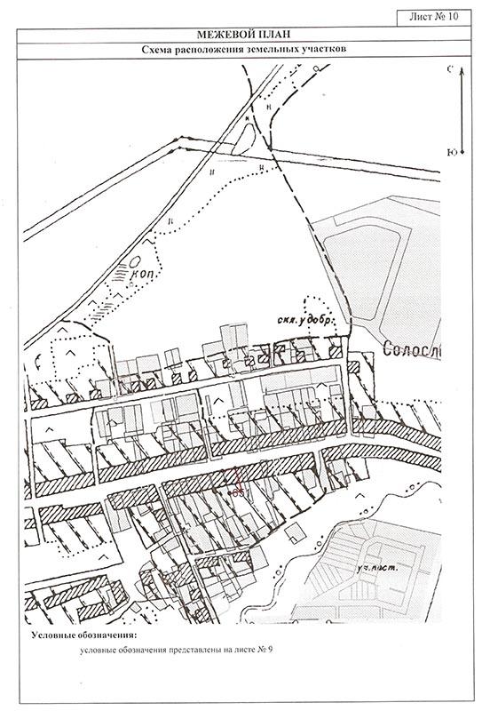 межевой план по образованию части земельного участка образец - фото 10